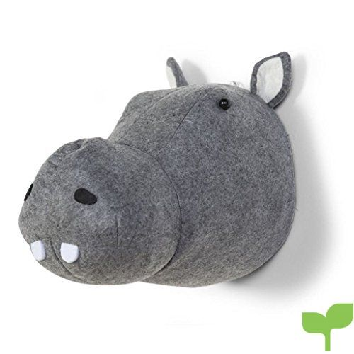 Childhome Hipopótamo – Cabeza animal fieltro, unisex