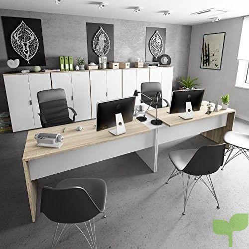 Habitdesign 0F4655A – Mesa Office, Mesa despacho Ordenador Modelo ...