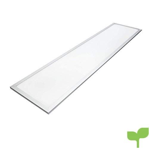 Panel LED rectangular, 40 watios, luz fria (6000K), 3150 lumen, 295x1195mm