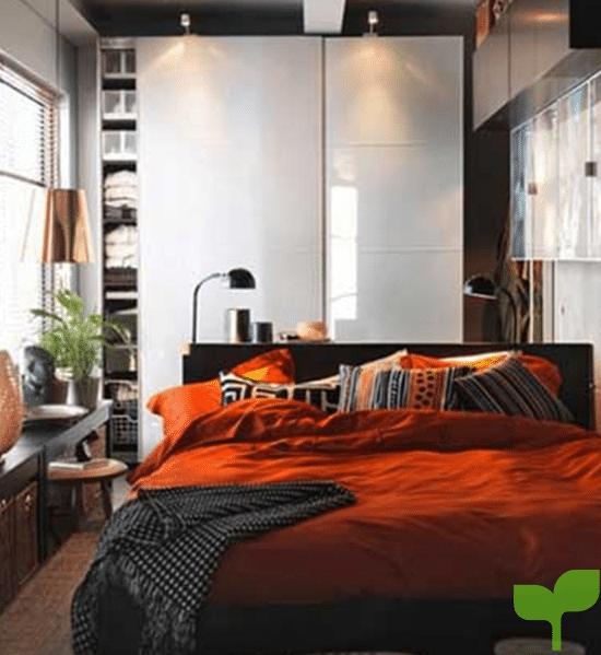 almacenamiento inteligente 1 - Ideas para decorar una habitación pequeña ¡La solución perfecta!