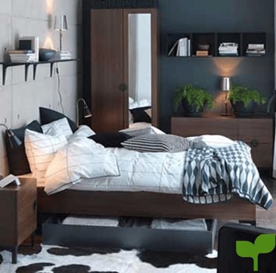 almacenamiento inteligente 2 - Ideas para decorar una habitación pequeña ¡La solución perfecta!
