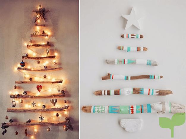 arboles de navidad no convencionales - Ideas para la decoración del árbol de navidad