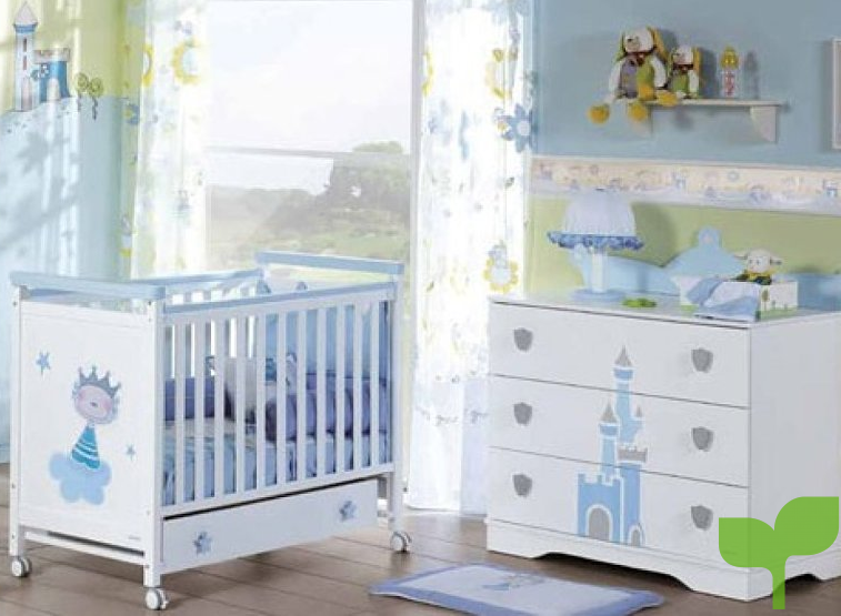 Armarios y muebles para la decoración de la habitación del bebé 1