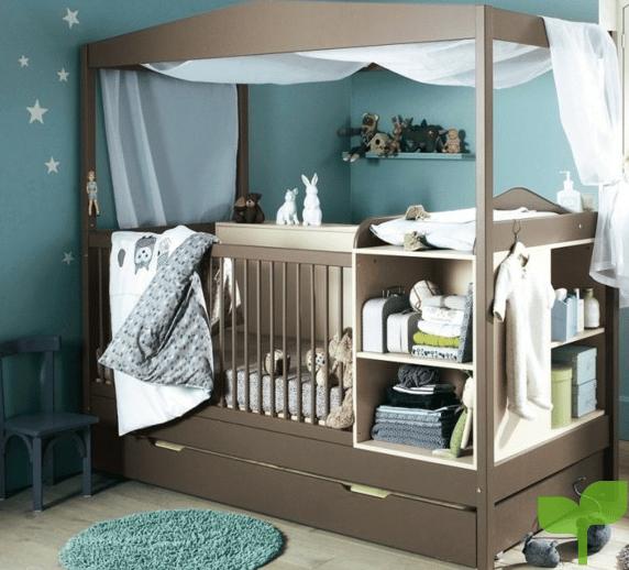 Armarios y muebles para la decoración de la habitación del bebé 2