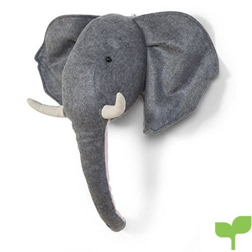 Childhome Elefante – Cabeza animal fieltro, unisex
