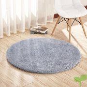 camal alfombras terciopelo redonda alfombra de yoga decorativo sala dormitorio y baño 100cm gris plata 180x180 - Listado de páginas de nuestro sitio web