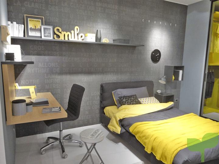 colores pintura - Ideas para decorar una habitación juvenil