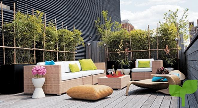como decorar terrazas