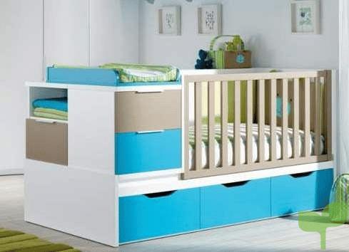 cuna de bebés 1 - Ideas para decorar la habitación del bebé