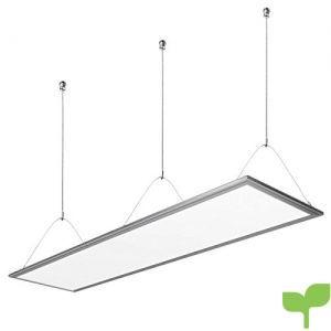 LE Panel LED, 36W = 80W Fluorescente, Blanco frío 6000K, Luz de techo Oficina Salón Despacho Sala de reunión