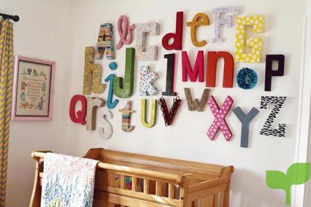 Decoración para las paredes de la habitación del bebé 2