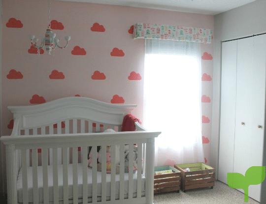 Decoración para las paredes de la habitación del bebé