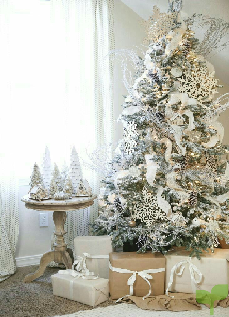decoracion en blanco
