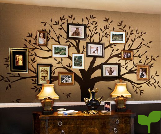 decorar con fotos decorar con fotos y vinilos - Ideas para decorar con fotos