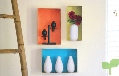 decorar paredes con cajas de carton 3