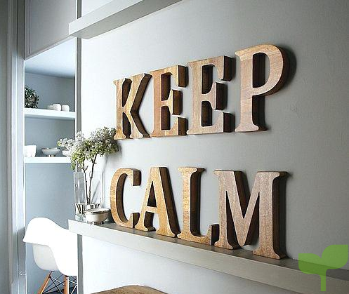 decorar paredes con letras 1 - Ideas para decorar paredes