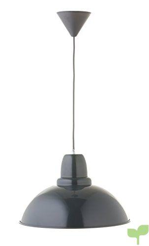 Els Banys City 37 – Lámpara colgante de techo, color antracita (disponible en varios colores)