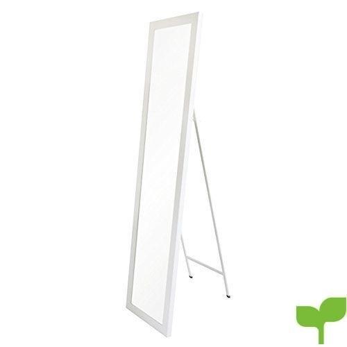 Espejo de pie nórdico Blanco de plástico para Dormitorio de 37 x 157 Fantasy – LOLAhome