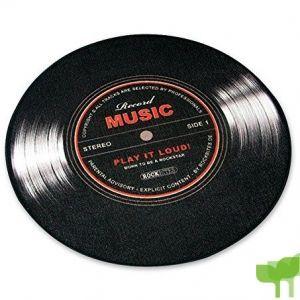 """Felpudo mediano en forma de LP/Vinilo """"Record Music"""""""