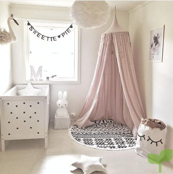 los doseles - Ideas para decorar la habitación del bebé