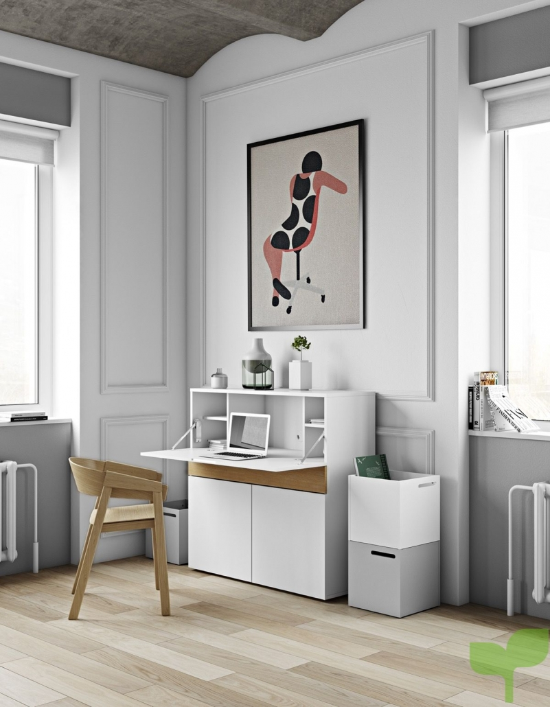 mini oficina 801x1030 - Acierta decorando tu Oficina