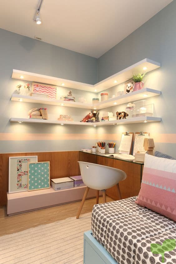 muebles funcionales 1 - Ideas para decorar una habitación juvenil