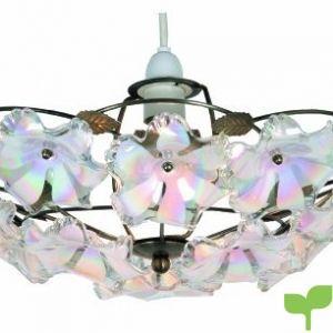 oaks lighting abeba lámpara de techo 38 cm latón envejecido y flores acrílicas 300x300 - Tienda Decoración Decopot