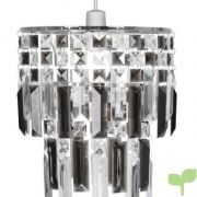 oaks lighting maia lámpara de techo estructura de cromo con láminas de acrílico color gris y transparente 180x180 - Listado de páginas de nuestro sitio web