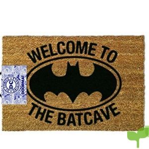 OOTB Alfombra para Puerta de Entrada, Batman – Welcome to The Batcave