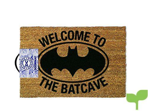 OOTB Alfombra para Puerta de Entrada, Batman – Welcome to The Batcave