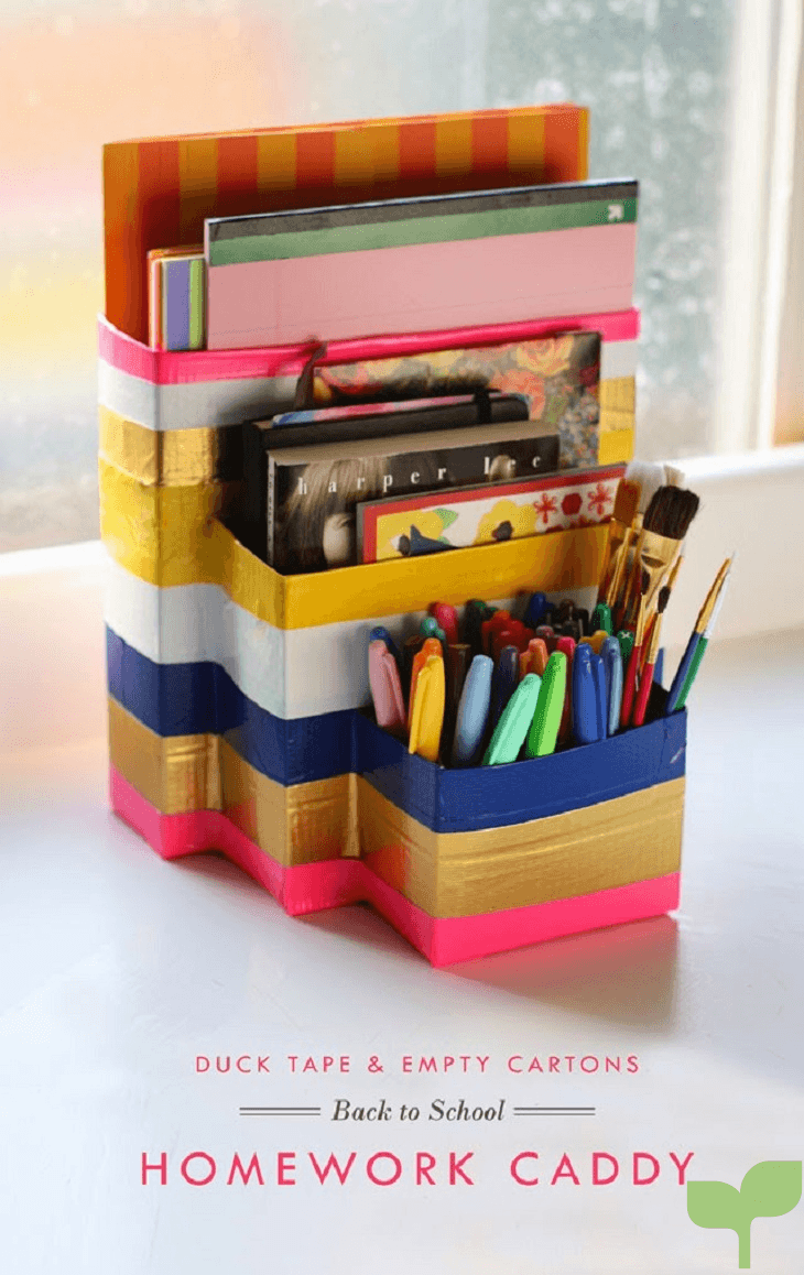 organizadores con cajas de carton 4 - Ideas para decorar con cajas