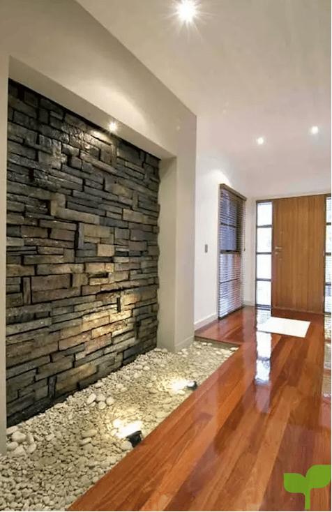 paredes con revestimientos - Ideas para decorar pasillos
