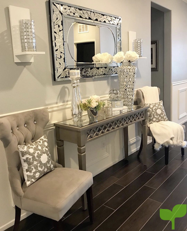 pasillo con adornos brillantes - Ideas para decorar pasillos
