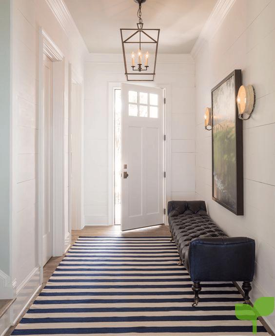 pasillo con mueble - Ideas para decorar pasillos