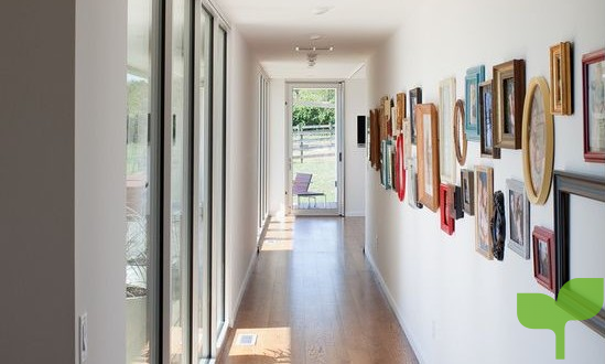 pasillo con puertas corredizas - Ideas para decorar pasillos