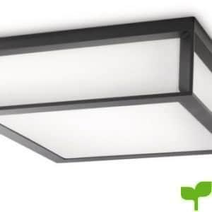 Philips Ecomoods Skies – Lámpara para pared o techo, iluminación exterior, incluye 2 bombillas, casquillo gordo E27