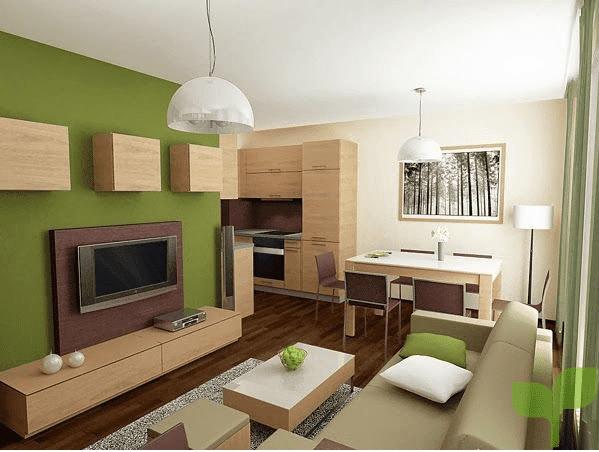 salones con matices claros - Cómo decorar un salón pequeño