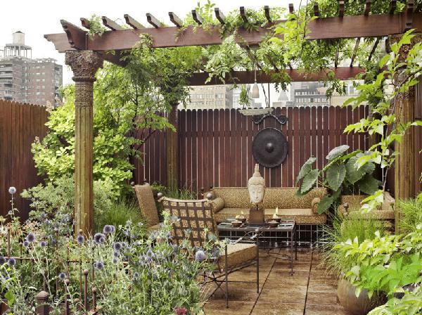 terrazas con plantas - Ideas para decorar terrazas