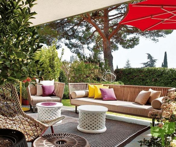terrazas con sombras - Ideas para decorar terrazas