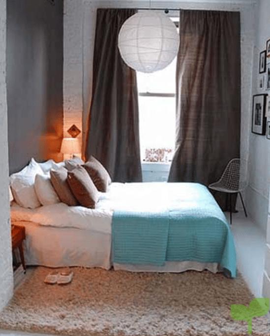 textiles adecuados para una habitacion pequeña - Ideas para decorar una habitación pequeña ¡La solución perfecta!