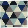 Luxbon Conjunto de 4 Fundas Cojín Almohada Lino Duradero Figura Geométrica Decorativos para Sofá Cama Coche 45×45 cm