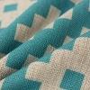 TOOGOO(R) Funda de Cojin Almohada 43cmx43cm Decorativos para Sofa,Cama