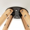 Silla Nórdica (Pack 4) – Silla scandi Blanca – silla nordic escandinava inspirada en silla eames dsw – Topic – (Elige tu color)