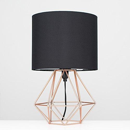 innovadora MiniSun jaula de base Moderna lámpara mesa estilo Decopot 'Angus'con – de E9I2DH