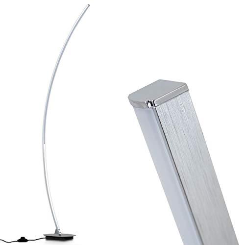 Moderna Lámpara de pie LED bajo consumo – 1x 11W LED alta eficiencia 1100 Lumens 3000K blanco cálido – Lámpara de pie cocina salón comedor restaurante