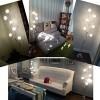 AMOS Lámpara de pie Salón de estar cálido creativo Dormitorio Led individual de mesa de café Vertical Lámpara de escritorio