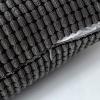 MIULEE Juego de 2 Kord Terciopelo Soft granulado Solid Decorativa Cuadrado Juego Fundas de Almohada de Lanzamiento 18* 18Pulgadas 45* 45cm, Poliéster y Mezcla de poliéster, Gris, 45 x 45 cm