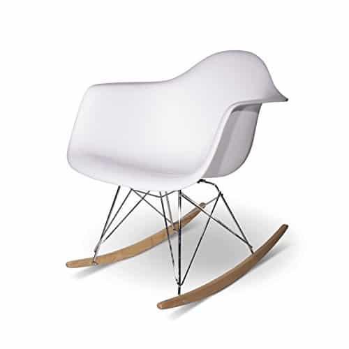 Aryana Home Eames Réplica – Balancín, 69 x 62 x 70 cm, Color Blanco