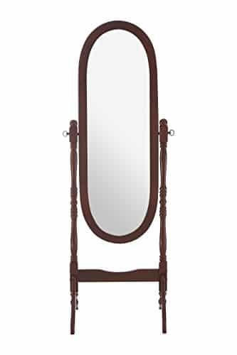 Premier Housewares – Espejo de pie en Caoba