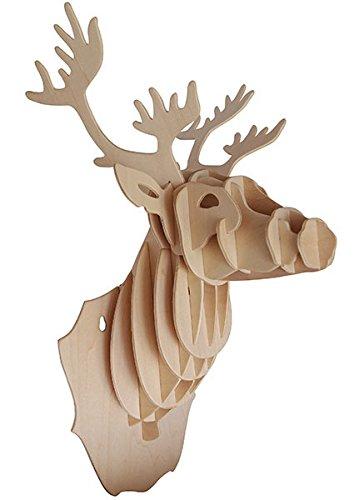 Quay Cabeza de los Ciervos artesanía en madera Kit de construcción FSC